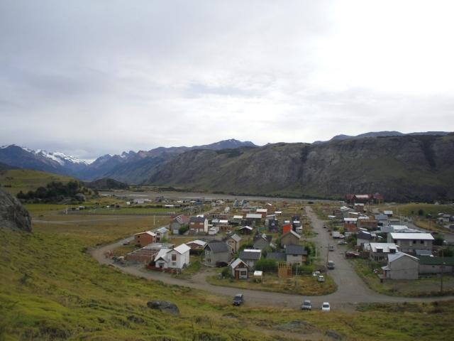 widok z góry na El Chalten